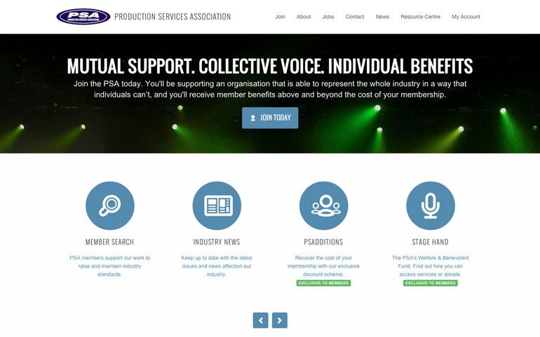 The PSA Website