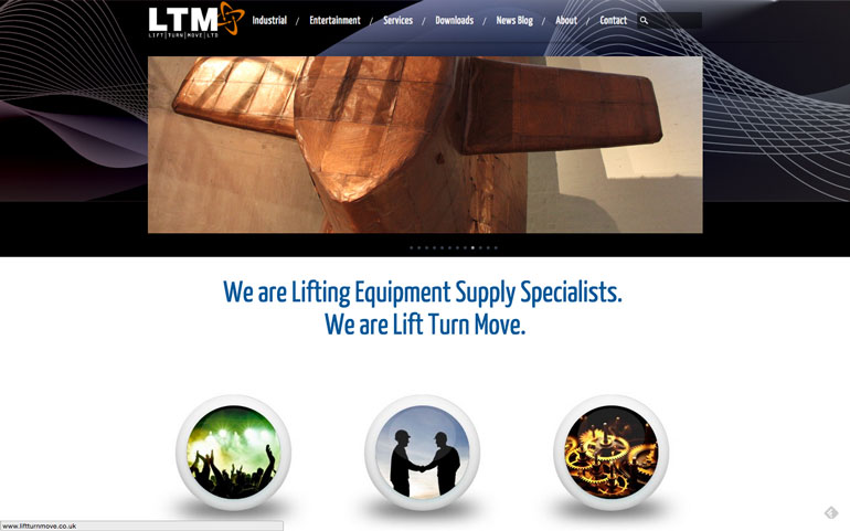 Lift Turn Move Website