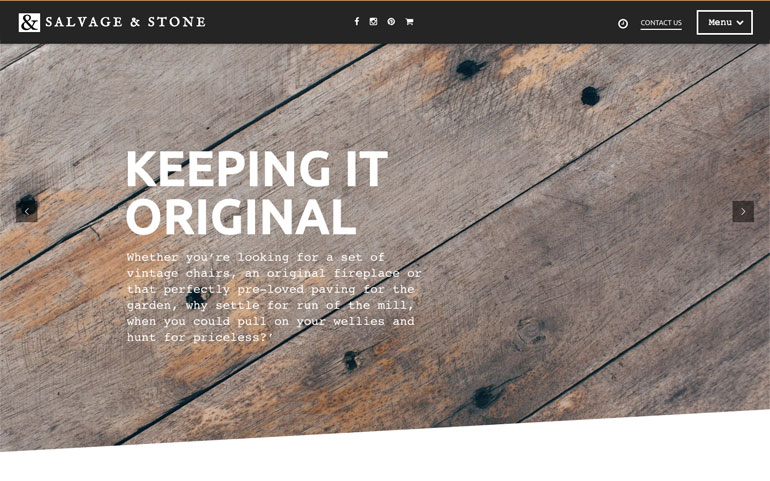 Salvage and Stone Home Page